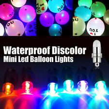 Mini Led Balloons Bulbs Lamps Lights Paper Lantern For Wedding Party Decoration