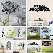 Star Wars Wall Sticker Removable Vinyl Decal Art Mural Boy Kid' Room Home Decor
