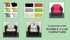 BUBBLE CLUB CUSHIONS - FOR PALLET RATTAN CANE WICKER FURNITURE BESPOKE AVAILABLE