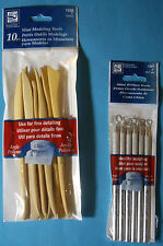 NEW CLAY TOOLS * You Choose * MINI RIBBON or  MINI MODELING TOOLS  LOEW-CORNELL