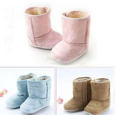 Sweet Baby Infant Boys Girls Warm Fur Winter Toddler Crib Shoes Snow Boots 0-18M