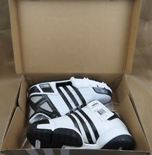 ADIDAS Pilrahna 4.0 Team Black White Silver Basketball Shoes Men's Size 10 NIB