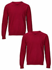 Top Class Essential Pack of Two V-Neck Jumpers