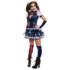 Harley Quinn Costume Adult Batman Arkham City Halloween Fancy Dress