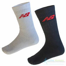 New Balance Crew Socks 3, 6, 9 Pairs Thick Sports Running Gym Mens Ladies Womens