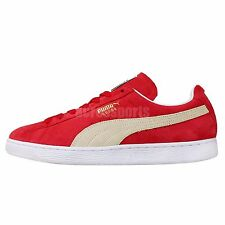 Puma Suede Classic Team Regal Red Unisex Mens Womens Shoes Sneakers 352634-05