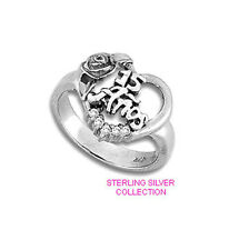 Quinceanera Ring 15 anos  in  Sterling Silver - Various Size
