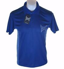 Bnwt Authentic Men's Tapout Short Sleeve Polo Shirt New Blue MMA UFC