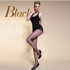 Sexy Women Fashion Lady Sheer Lace Solid Black Silk Stockings Tights Pantyhose