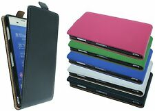 Case Flip Case Phone protection Sony Xperia Z3 (D6603) in blue BLACK PINK WHITE