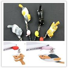 Newest Cat Playing Ball 3.5mm Anti Dust Earphone Jack Plug Stopper For Phone SP