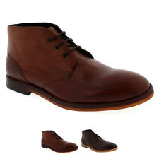 Mens H By Hudson Houghton 2 Lace Up Leather Smart Ankle Chukka Boot Shoe UK 6-12