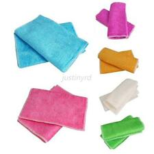 Useful Bamboo Fiber Cleaning Cloths Dishcloths Rags Wash Cloths Cleaning Towel