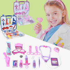 Pretend Nurse Doctor Medical Toy Kid Baby Role Play Education Carry Case Set