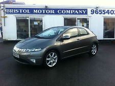 Honda Civic 1.8i-VTEC i-Shift EX Auto ' BLACK LEATHER - SUNROOF- WATCH VIDEO '