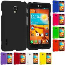 For LG Optimus F7 Hard Rubberized Matte Snap-On Case Skin Cover Accessory