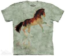 """HORSE """"FOREST STALLION"""" ADULT T-SHIRT THE MOUNTAIN"""