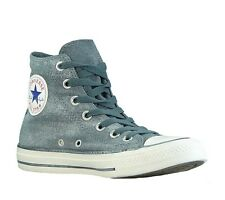 new CONVERSE women's Chucks High-Top Casual Trainers Grey Jeans Look 545023C