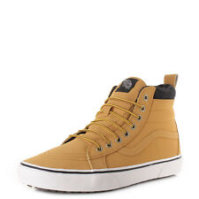 MENS VANS SK8 HI TOP MTE HONEY LEATHER HIGH TOP CASUAL TRAINERS SHOES SIZE