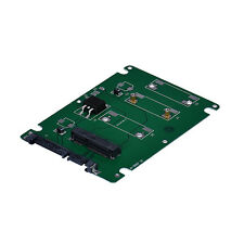 Mini Pcie mSATA SSD Converted To 2.5Inch SATA3 Interface Adapter Card With Case