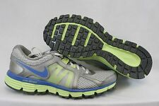 NEW Girls Kids Youth NIKE Dual Fusion Run ST 2 456970 007 Silver Sneakers Shoes