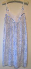 Charter Club Short Cotton Knit Summer Nightgown Gowns Womens Size M L