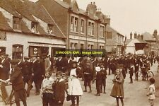 rp10439 - Parade in Bourne , Lincolnshire - photograph 6x4