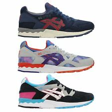 ASICS GEL LYTE V RUNNING TRAINERS SHOES MEN'S NAVY BLUE BLACK UK SIZES 4-11
