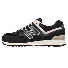New Balance ML574FBG D Black White Suede Mens Running Shoes Sneakers ML574FBGD