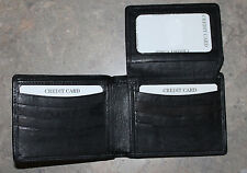 New Genuine Leather Wallet BUFFALO BILLS White HELMET Emblem Bi-fold or Tri-Fold
