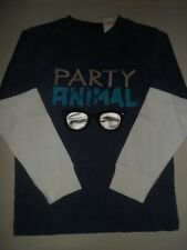 Gymboree ANIMAL PARTY Blue Heather Party Animal Sunglasses Tee Shirt NWT 5 6 7