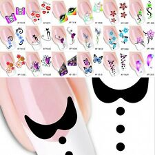 Sheet Nail Art Sticker Water Transfer Stickers Flower Decals Tips Decoration Hot