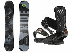 2016 Ride Highlife Snowboard With Ride Capo Bindings Large