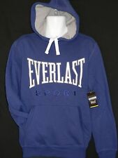 Everlast Sports Mens Size Small Blue Hoodie Tags Exercise Workout Jogging Boxing