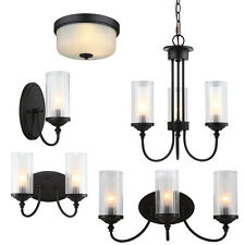 Lexington Oil Rubbed Bronze Bath Vanity, Ceiling Lights & Chandelier Lighting