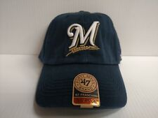 Milwaukee Brewers Franchise '47 Brand Fitted Cap Navy Unstructured Hat