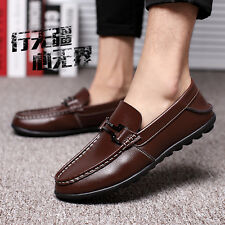 Fashion Mens Slip On Driving Moccasin Loafer Sneakers Oxfords Casual Shoes XN18