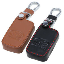 Key Chain Holder Case Leather Fit Subaru BRZ(2013) Forester(2014) Outback Legacy