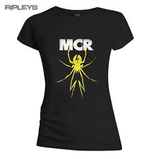 Official Skinny T Shirt My Chemical Romance   Yellow Spider All Sizes