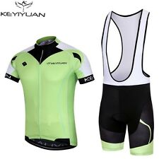 2016 Summer Pro Team Clothing Mens Cycling Jerseys Bicycle Bib Short Green
