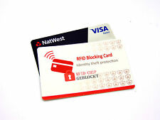 RFID Contactless Blocking Credit Card Debit Card Shield Anti Theft Protector LOT