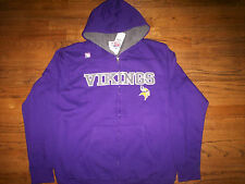 MINNESOTA VIKINGS NEW NFL PRESEASON FAVORITE HEAVYWEIGHT HOODED SWEATSHIRT