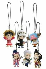 Bandai One Piece The New World Punk Hazard Island Phone Strap Mascot Figure
