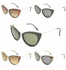 Cat Eye Rockabilly Women's Ladies Sunglasses Trendy Retro Vintage 80's 70's