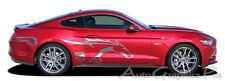 Side Horse STEED Vinyl Graphic Pony Stripe Decal 3M Vinyl 2015-2017 Ford Mustang