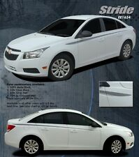STRIDE - Vinyl Stripes Graphics Decals 3M for 2008-2014 Chevy Cruze