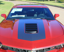 Vinyl Graphic Racing Rally OE Stripes Wide Hood Decals Pro 3M 2014 Camaro SS RS
