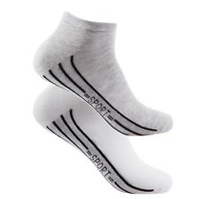 Men's Sneaker Socks Short Sports Socks Pack Of 3 39-42 43-46 New