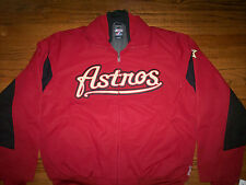 HOUSTON ASTROS NEW MLB MAJESTIC AUTHENTIC TRIPLE PEAK PREMIER JACKET