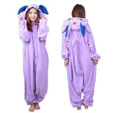 Anime Pokemon Espeon Adult Kigurumi Pajamas Cosplay Costume Onesies Sleepwear